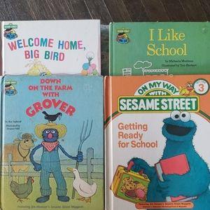 Vintage Sesame Street books